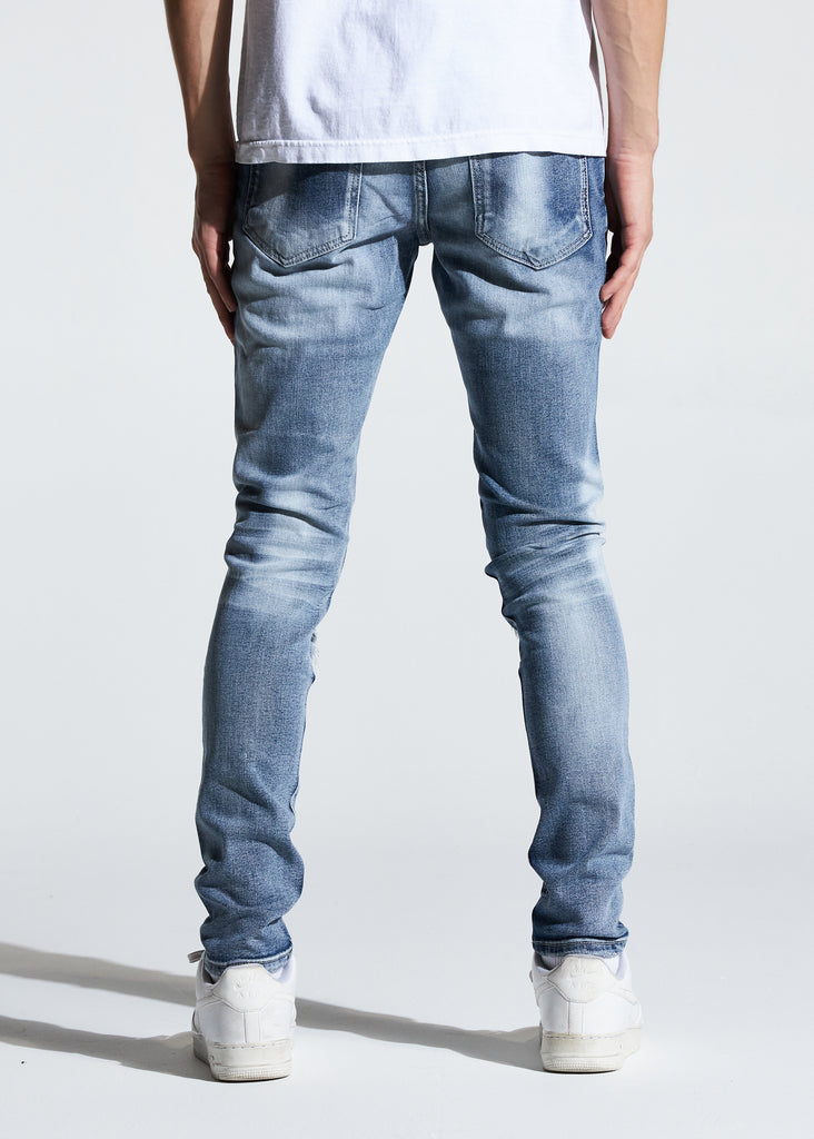 Atlantic Denim (Bleach Indigo)