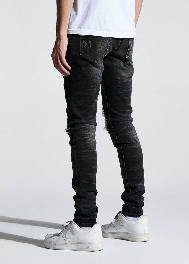 Atlantic Denim (Washed Black)