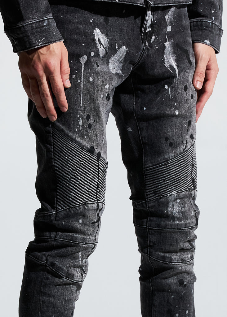 Skywalker Biker Denim (Painted Black)