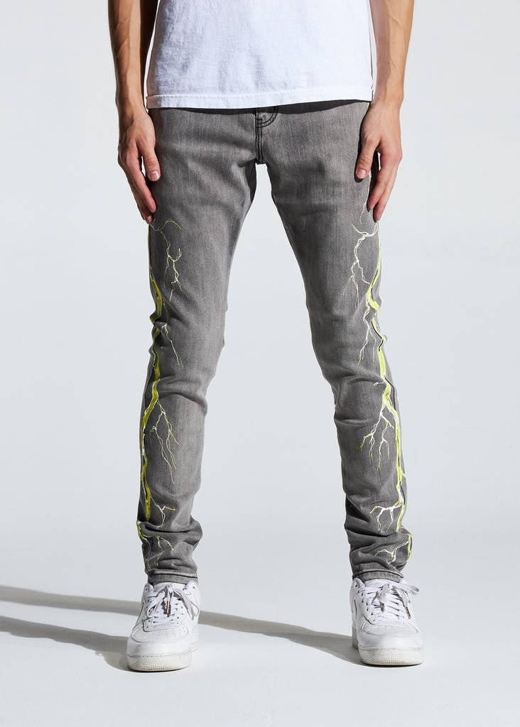 Atlantic Denim (Grey/Yellow)