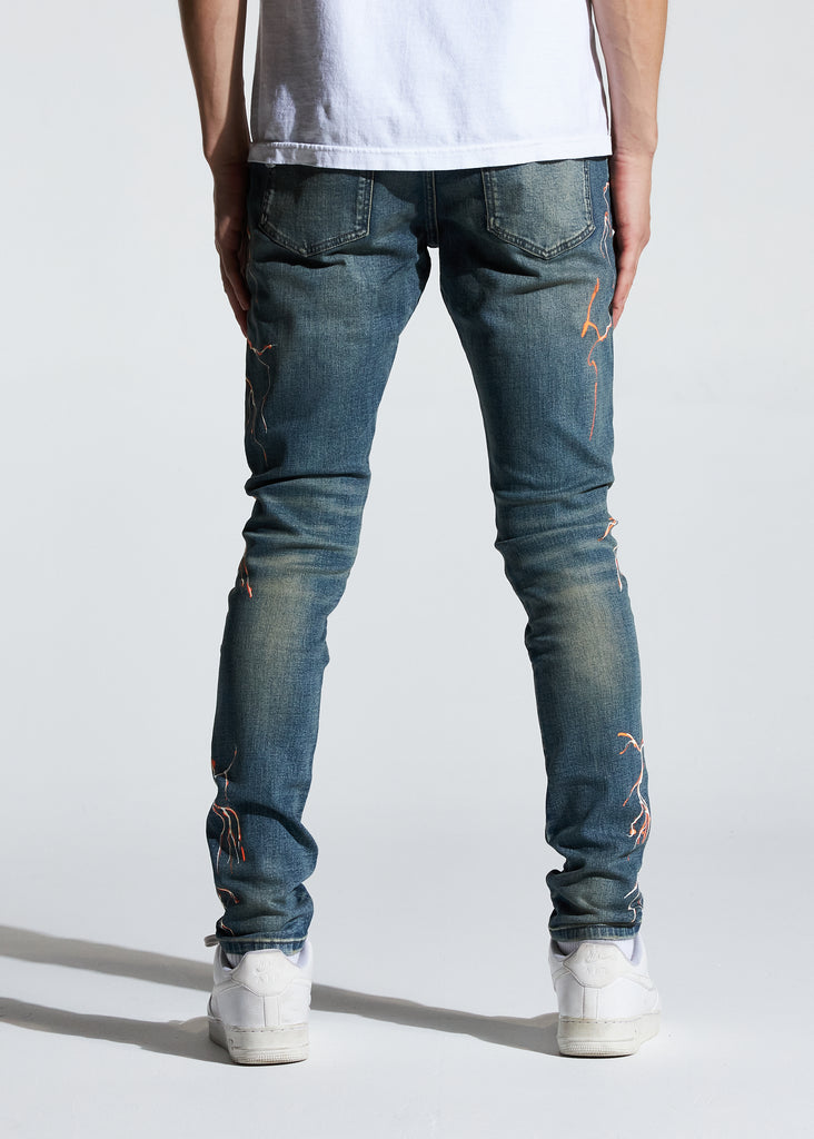 Atlantic Denim (Blue/Orange)