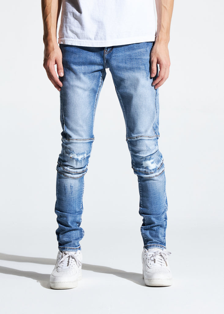 Hudson Denim (Light Indigo)