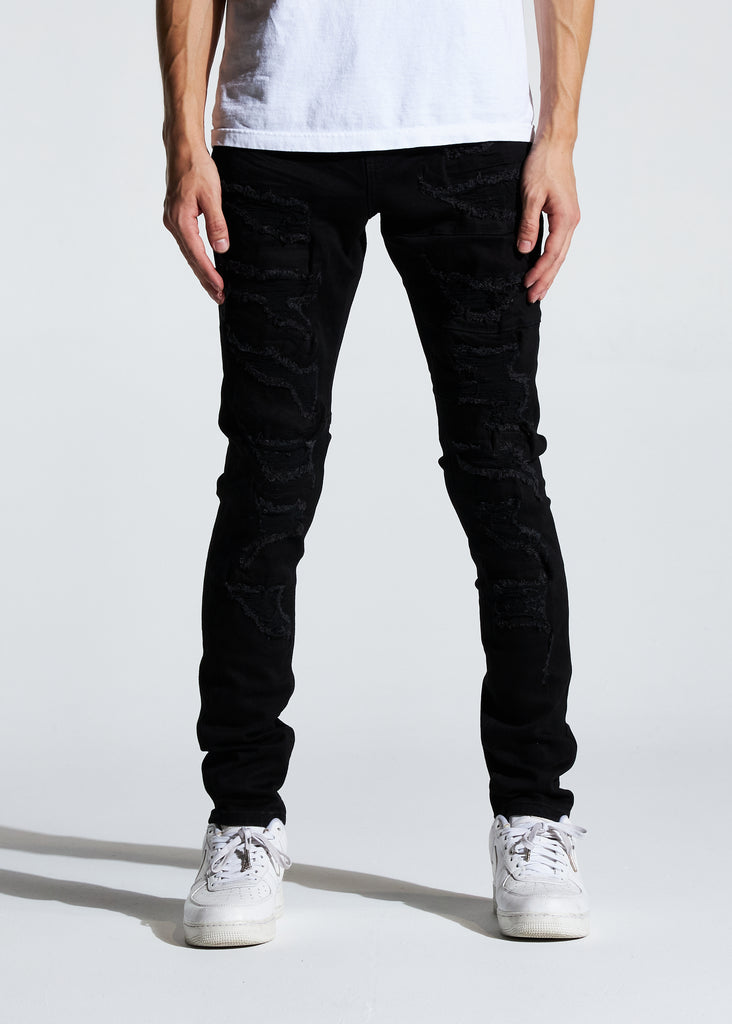Dale Denim (Black Distressed)