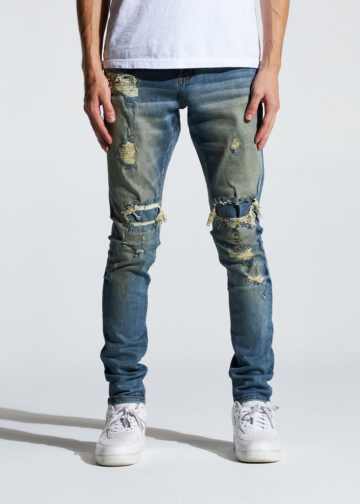 Kenseth Denim (Sand Indigo)