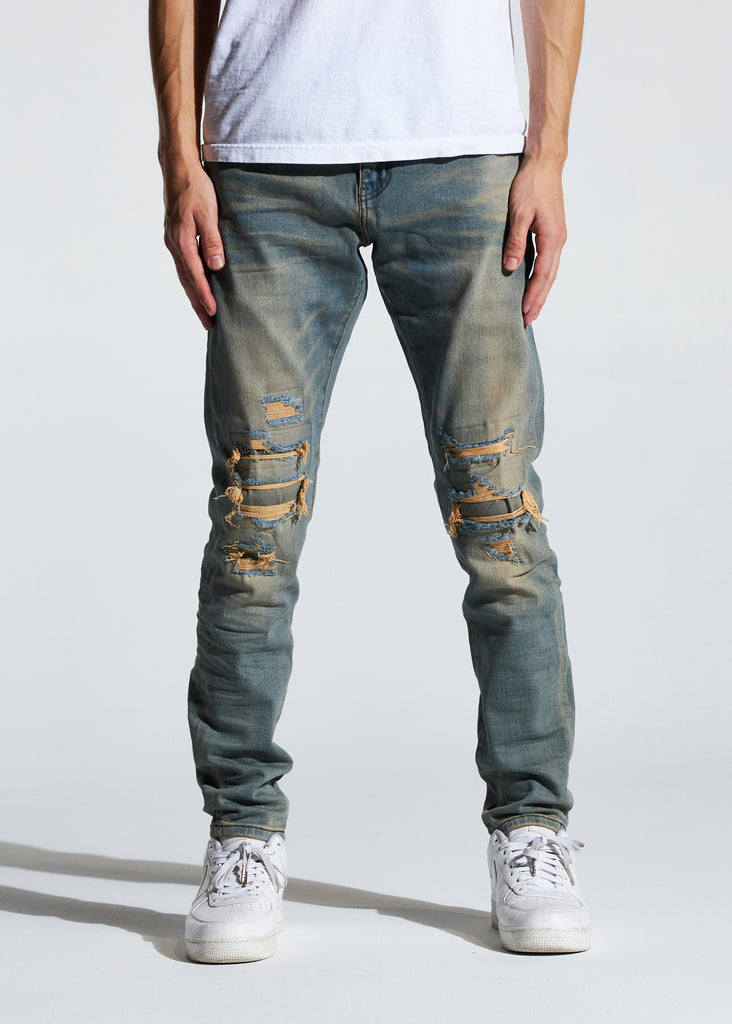 Atlantic Denim (Fade Sand)