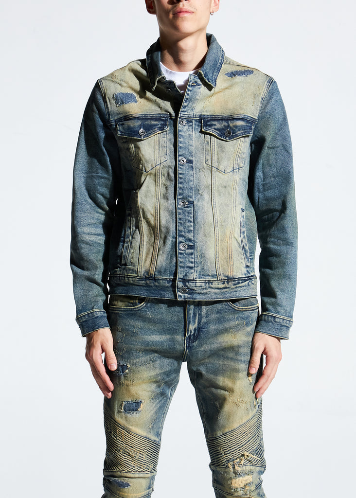 Bering Denim Jacket (Light Sand Wash)