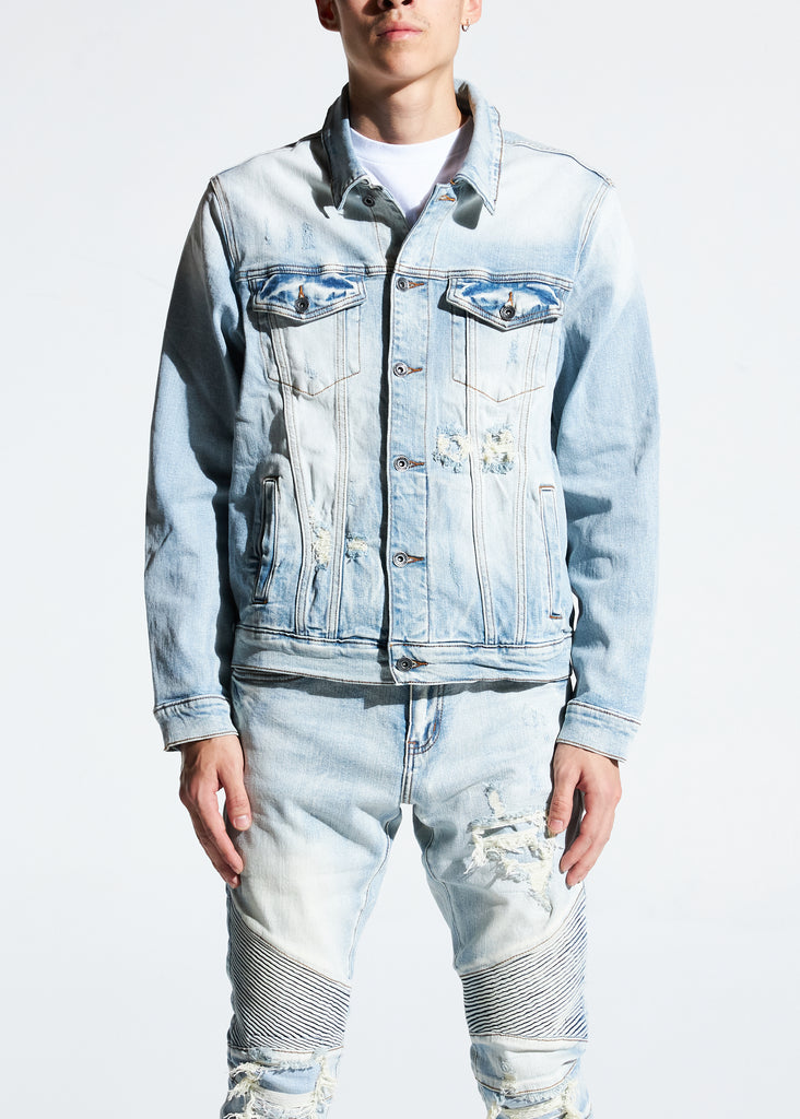Bering Denim Jacket (Light Wash)
