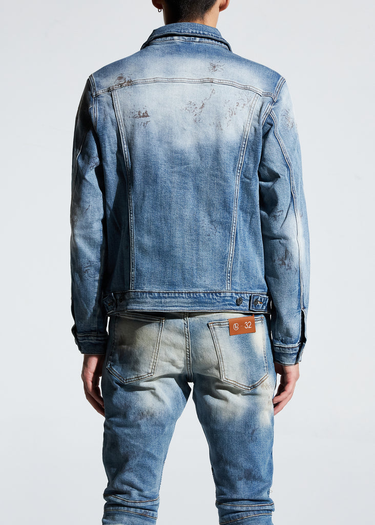 Bering Denim Jacket (Light Indigo)