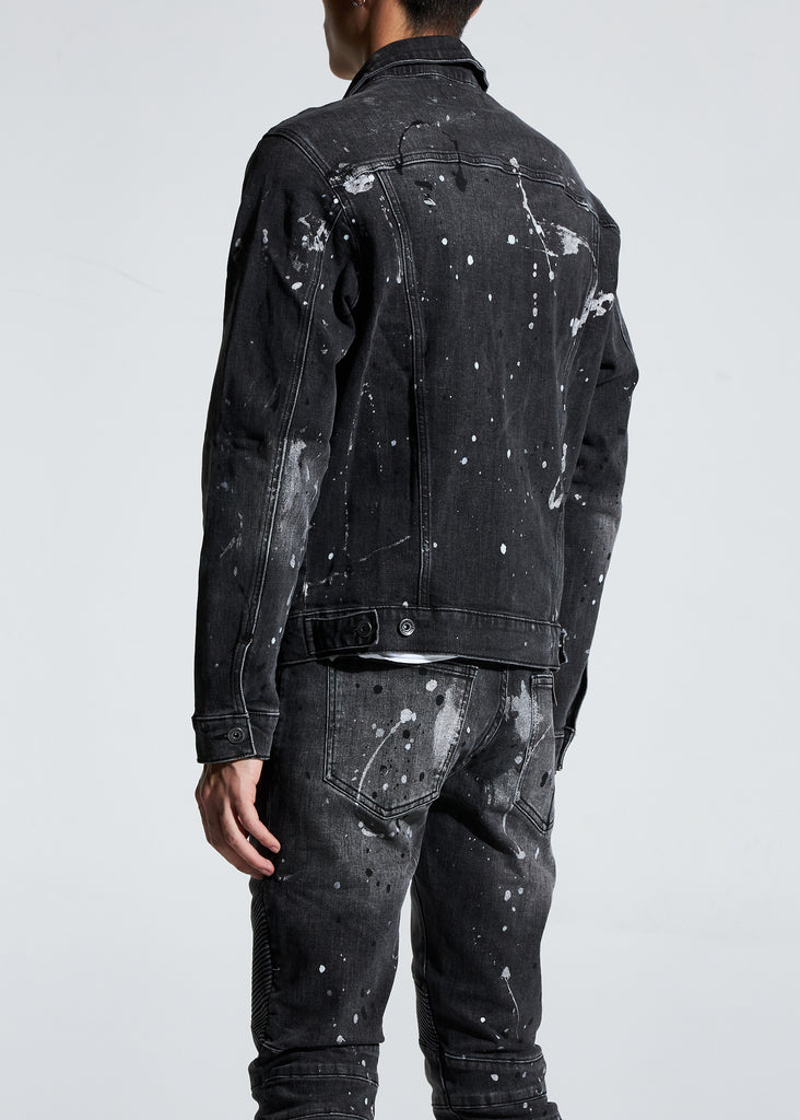 Bering Denim Jacket (Painted Black)
