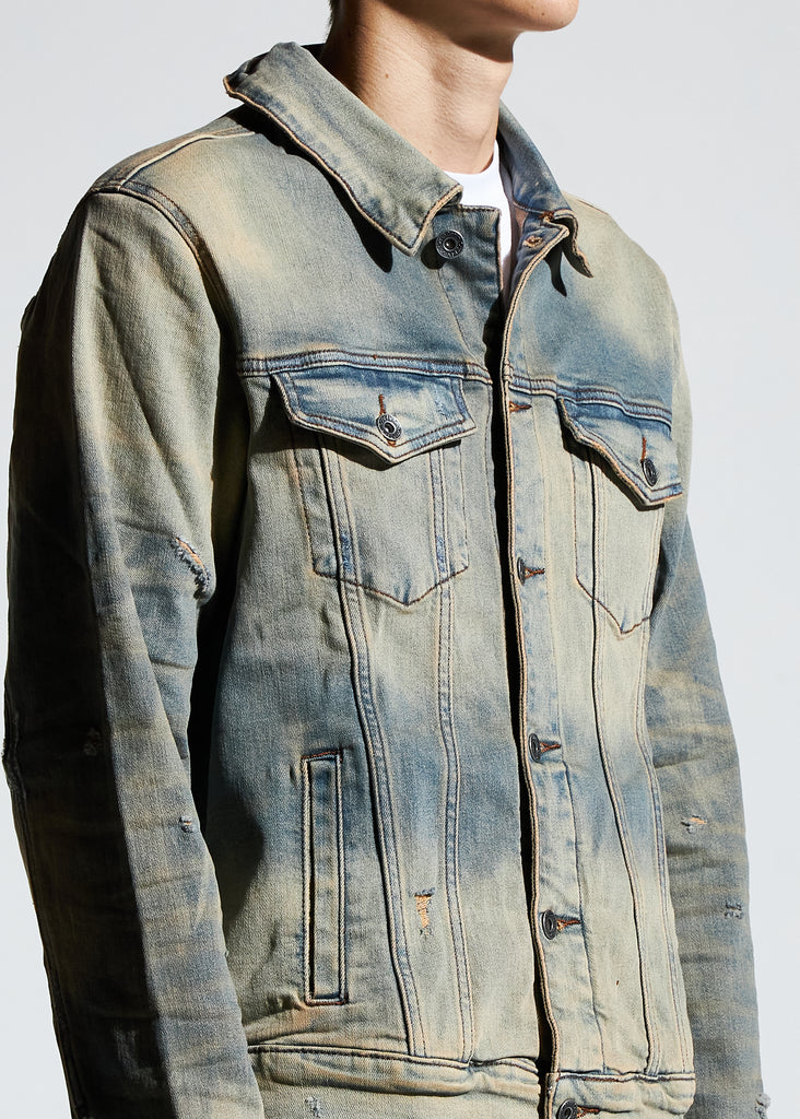 Bering Denim Jacket (Fade Sand)