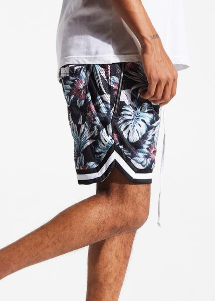 Jordan Ball Shorts (Black Floral)
