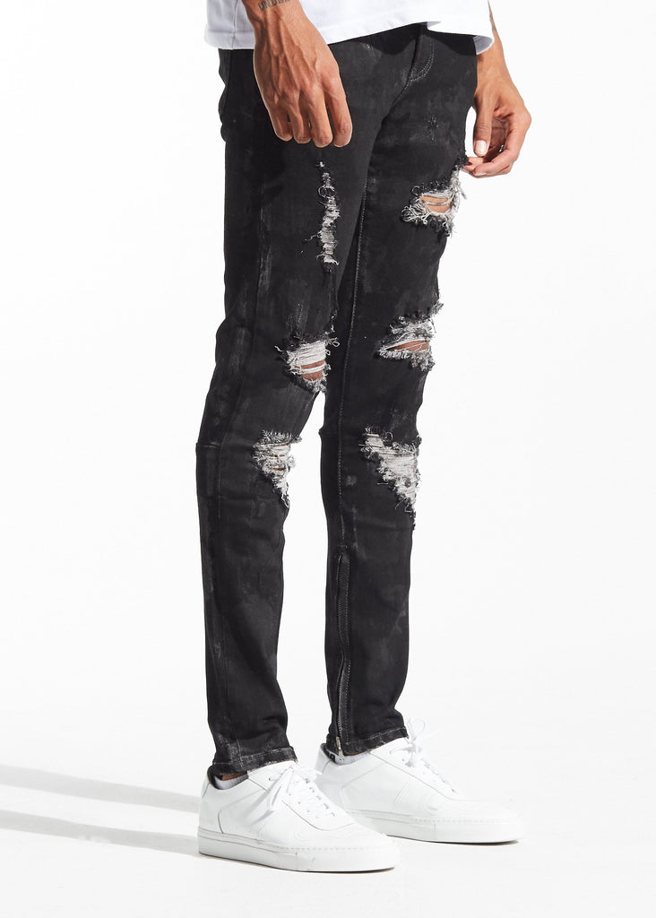 Pacific Denim (Black on Black)