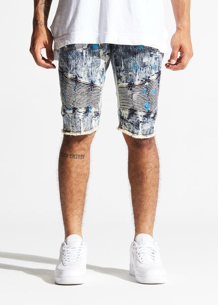 Grayson Shorts (Blue Metallic)