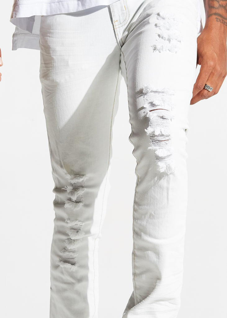 Herc Denim (White)