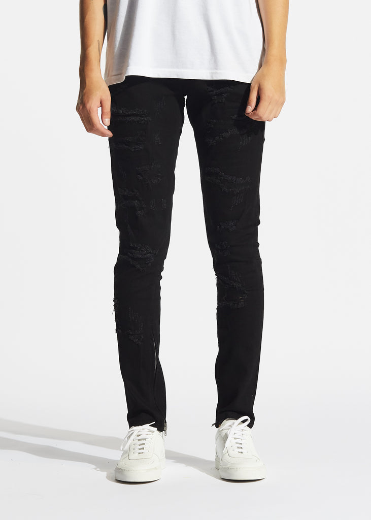Pacific Denim (Black Rip and Repair)
