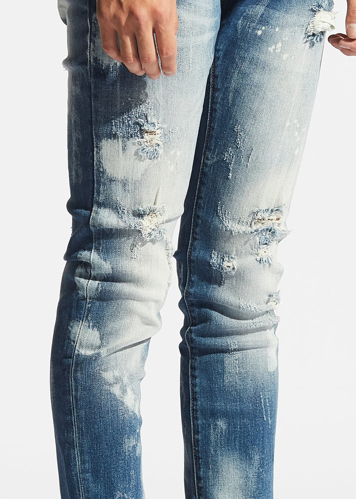 Vela Denim (Blue Bleach)