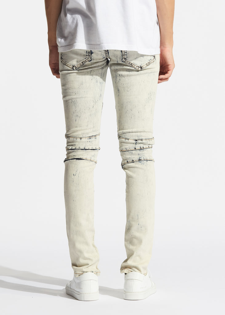 Skywalker Biker Denim (Light Vintage Blue Acid)