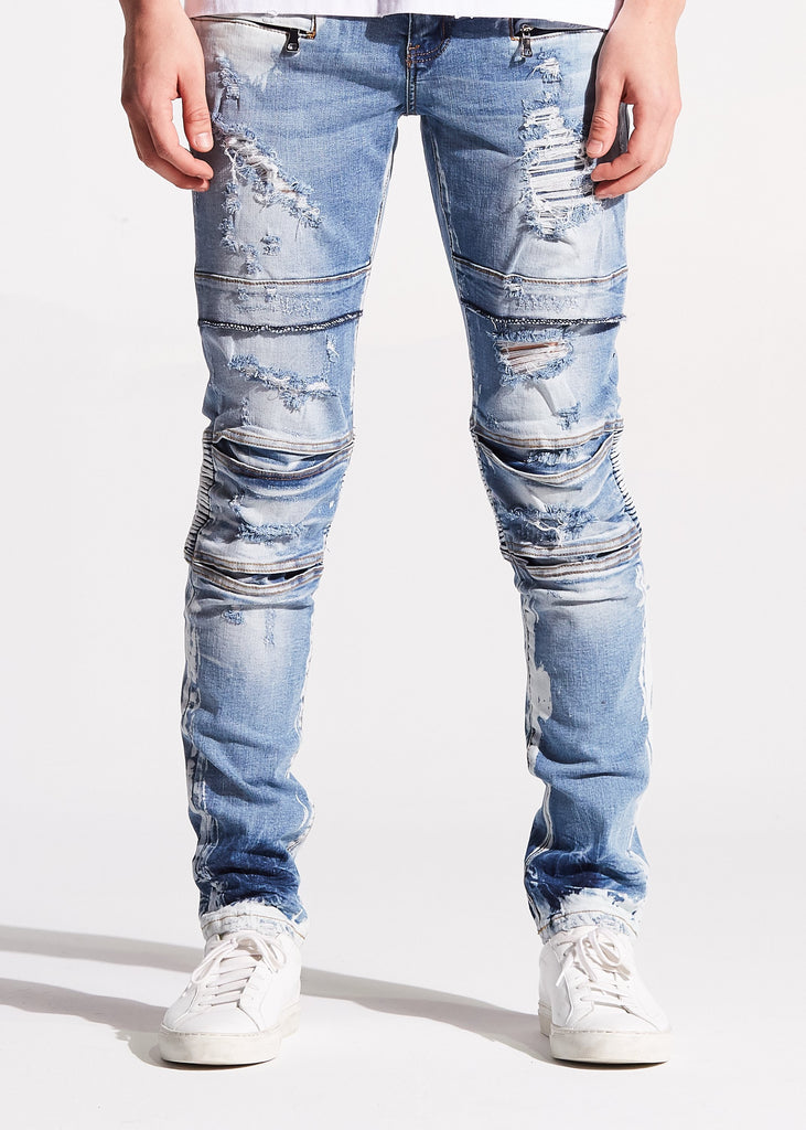Francesco Biker Denim (Blue)