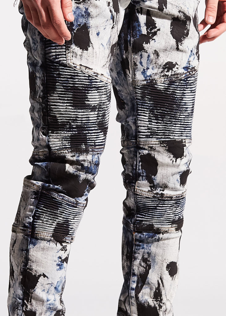 Bron Biker Denim (Bleach Acid)