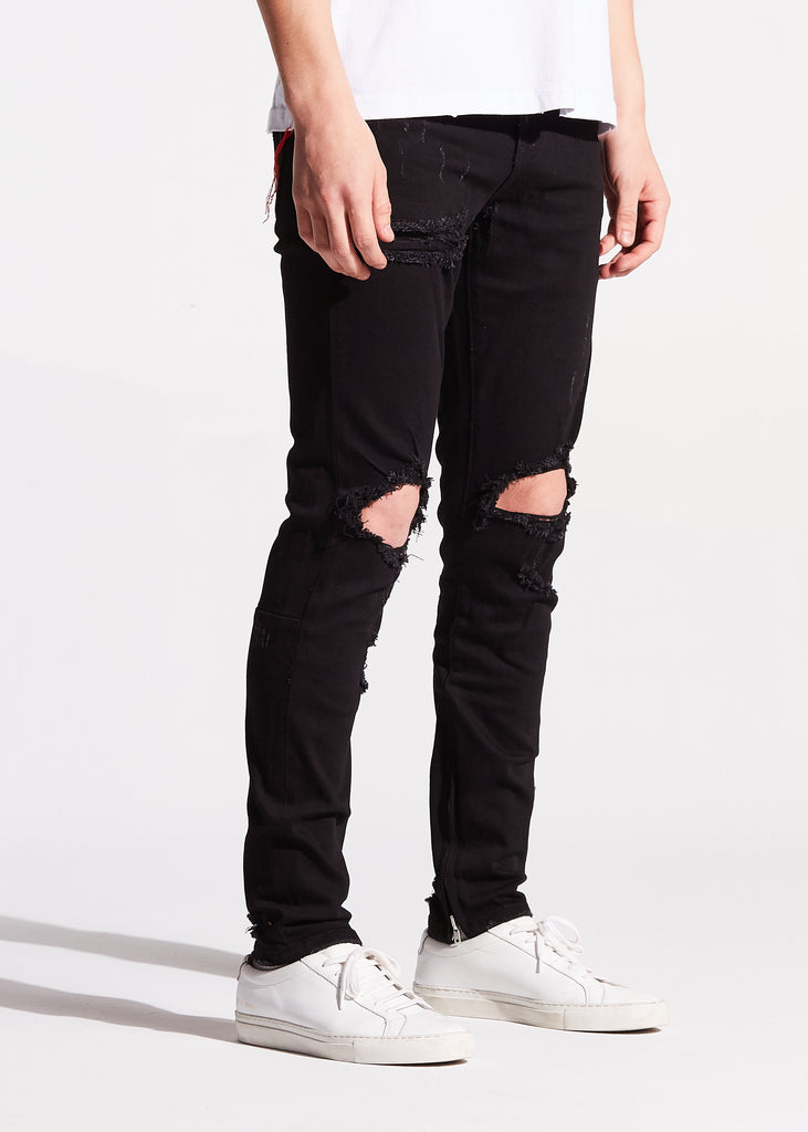 Pacific Denim (Black Ripped)