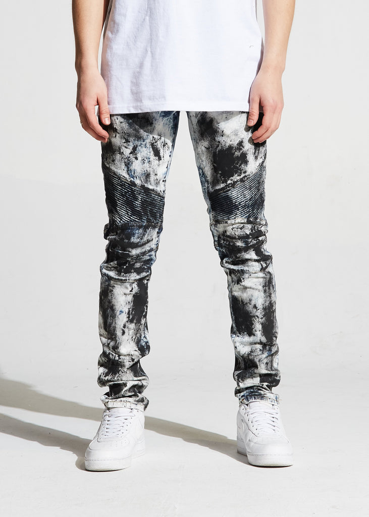 Skywalker Biker Denim (Acid Wash)