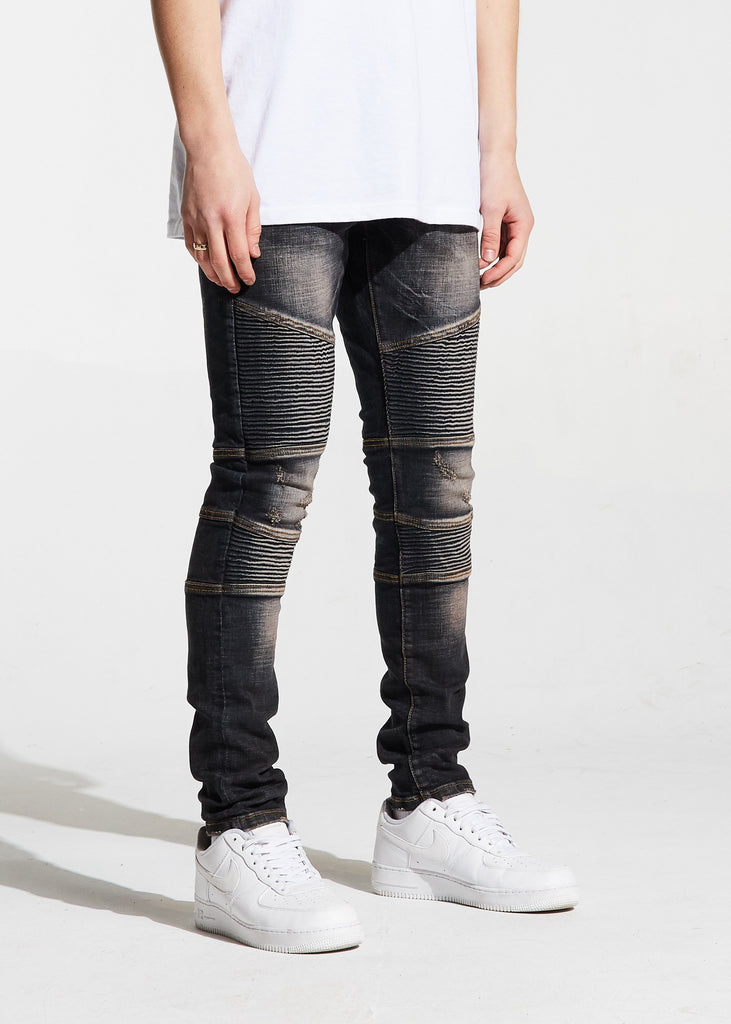 Bron Denim (Black Stone)
