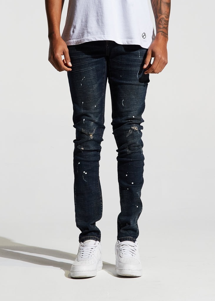 Atlantic Denim (Deep Blue)