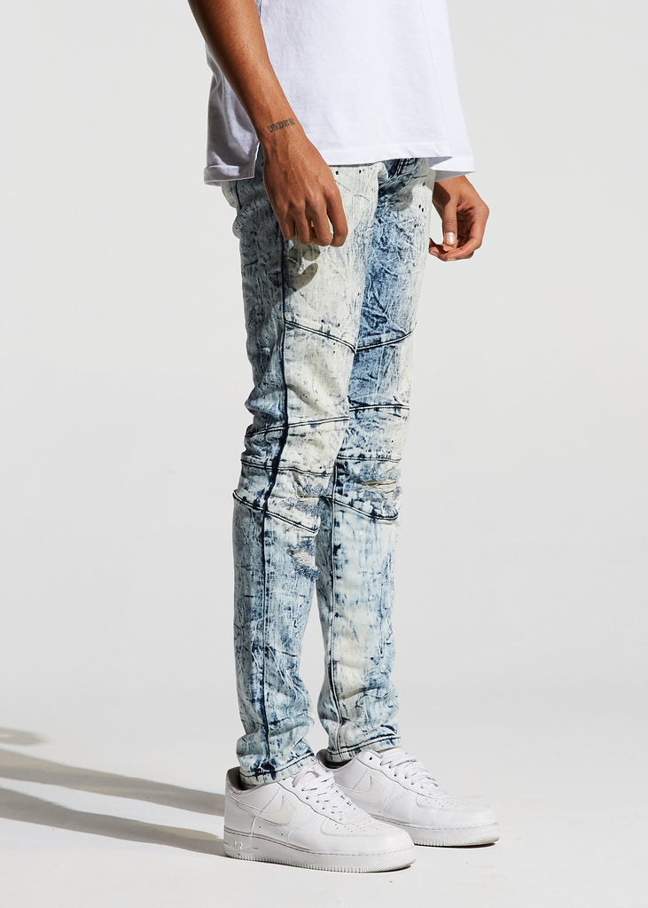 Montana Denim (Light Blue Bleach)