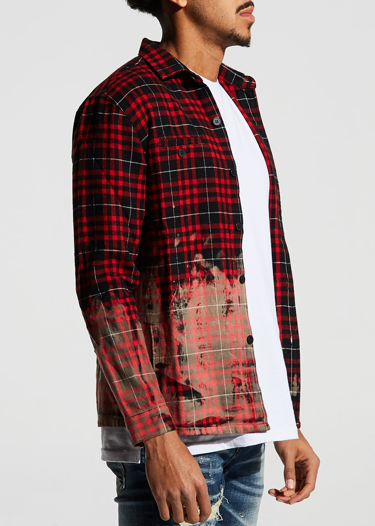 Angeleno Flannel (Red)
