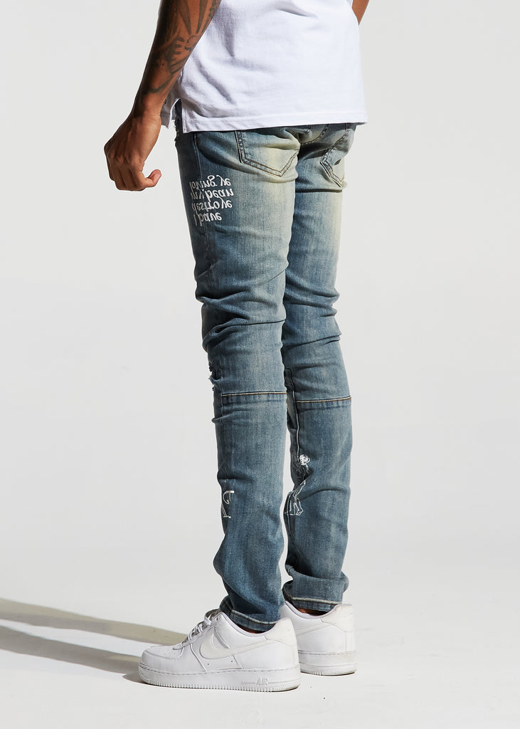 Atlantic Denim (Graphic Blue)