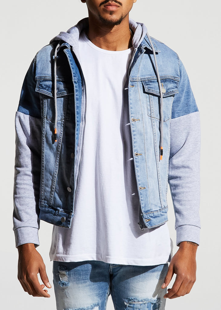 Manuel Denim Jacket (Stone Wash)