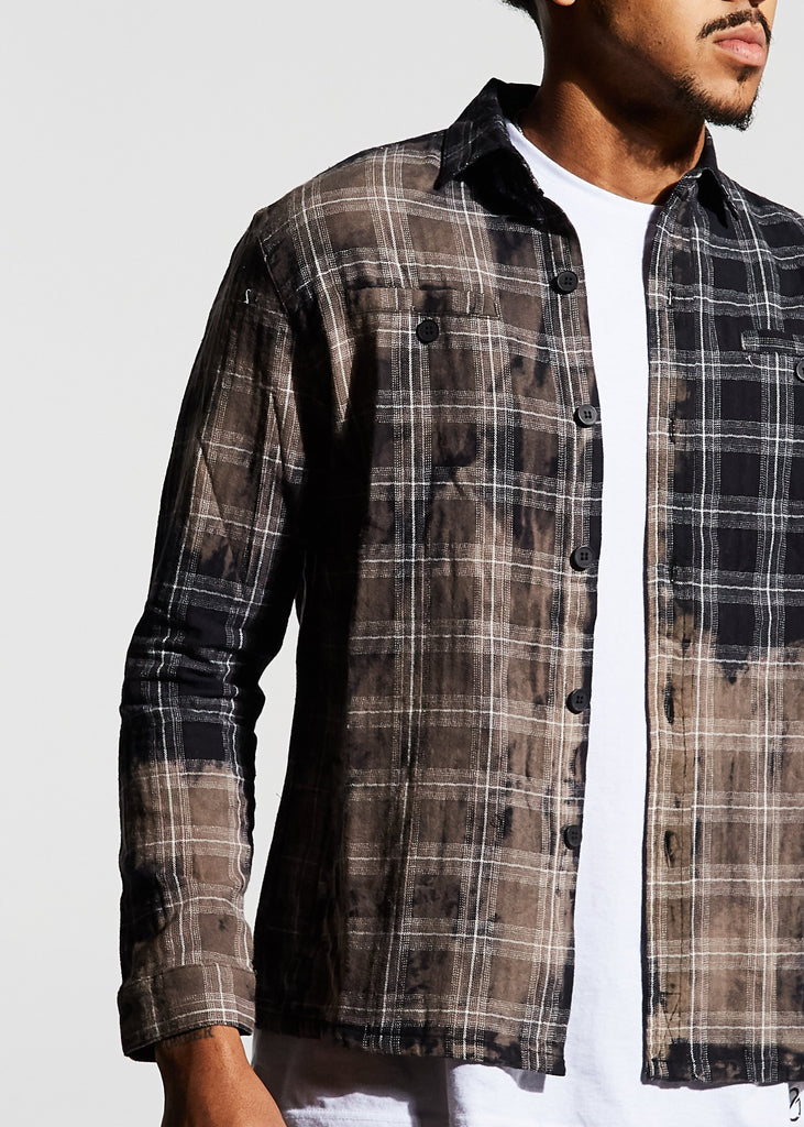 Angeleno Flannel (Black)
