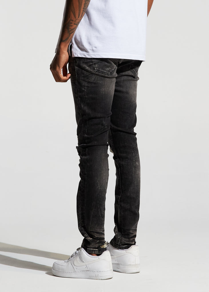 Atlantic Denim (Black Stone Wash)