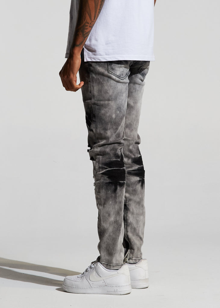 Pacific Denim (Grey Bleach)
