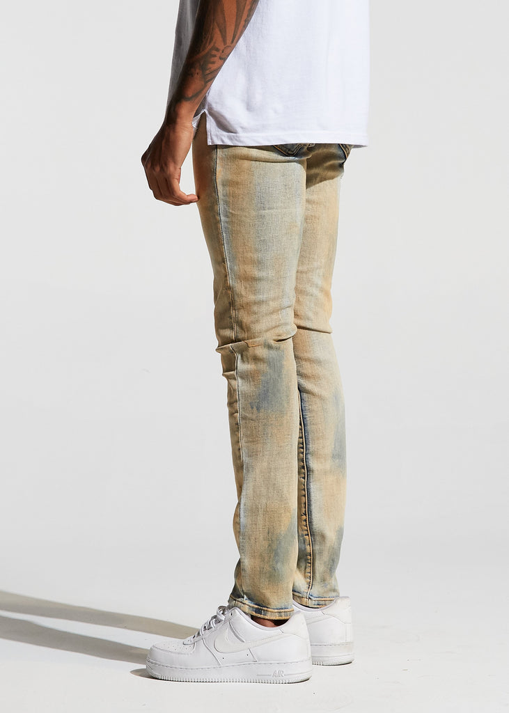 Atlantic Denim (Khaki Bleach)
