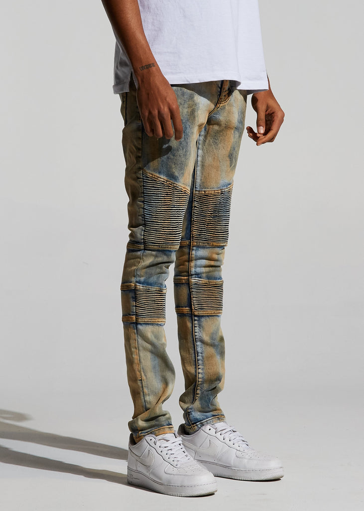 Bron Denim (Tan Acid)