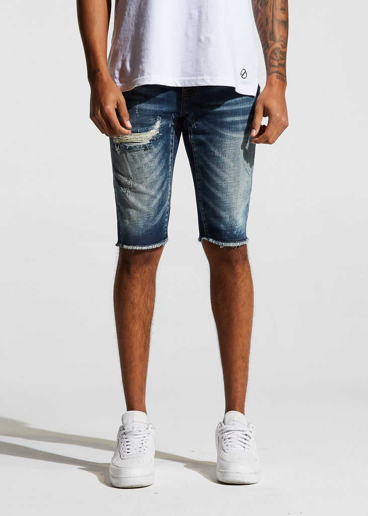Pacific Denim Shorts (Blue)