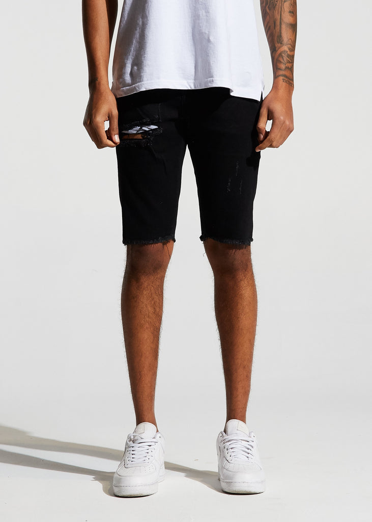 Pacific Denim Shorts (Black)