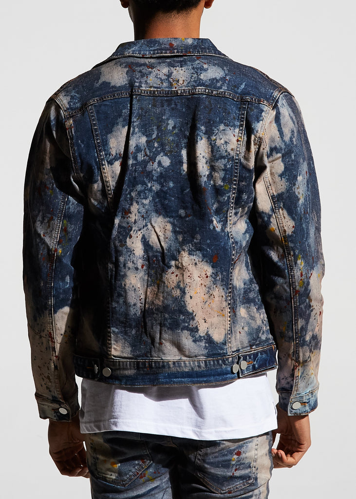 Porter Denim Jacket (Bleach)