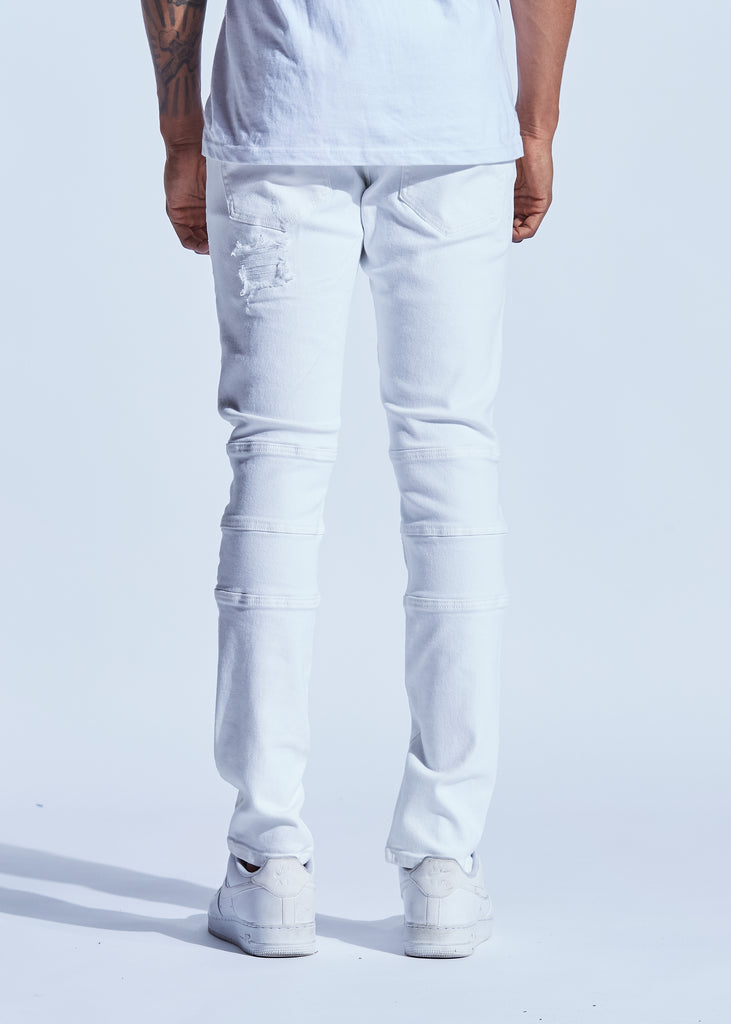 Bron Denim (White)