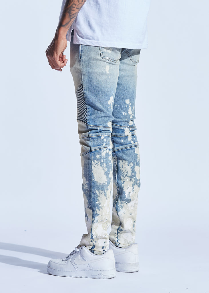 Skywalker Biker Denim (Indigo Paint)