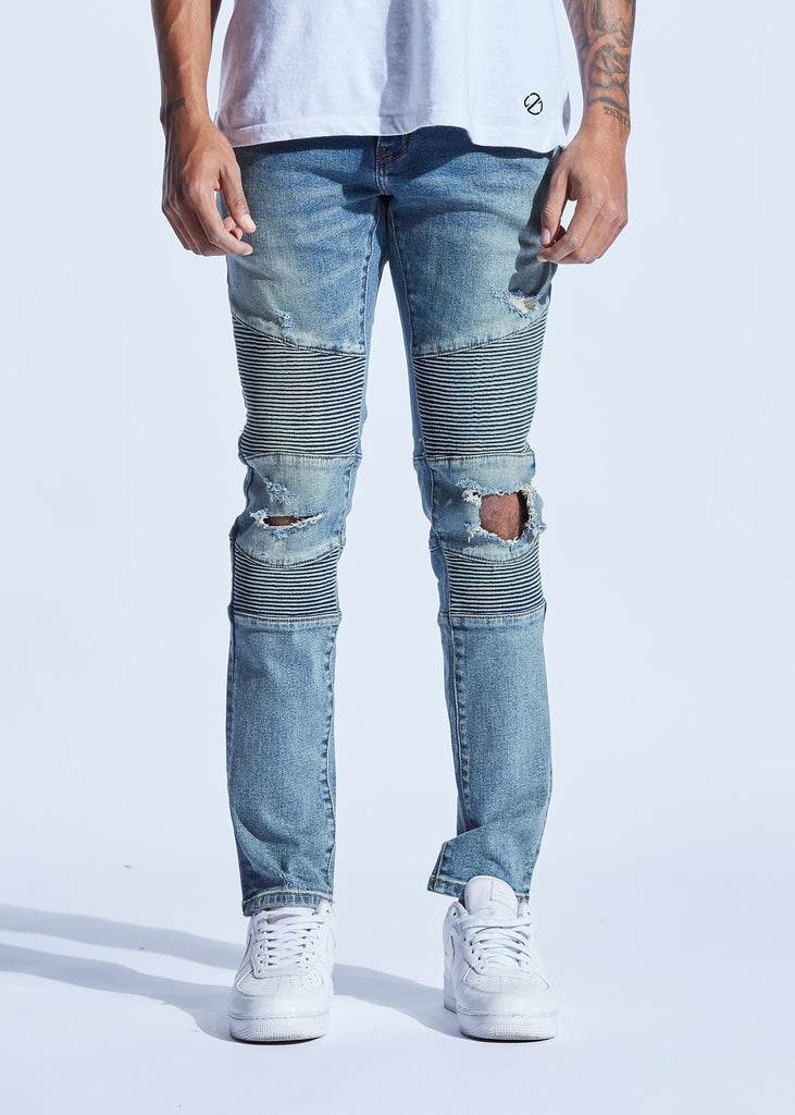 Bron Denim (Blue Crash)