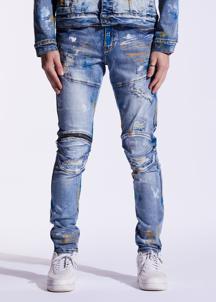 Bart Denim (Indigo Paint)