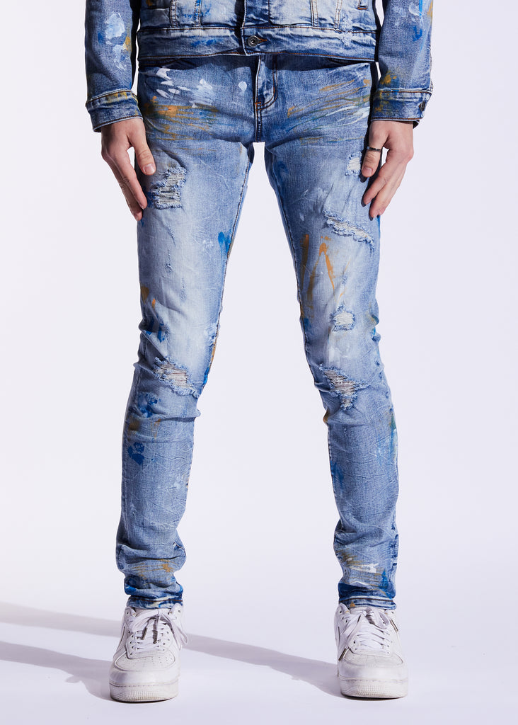 Atlantic Denim (Indigo Paint)