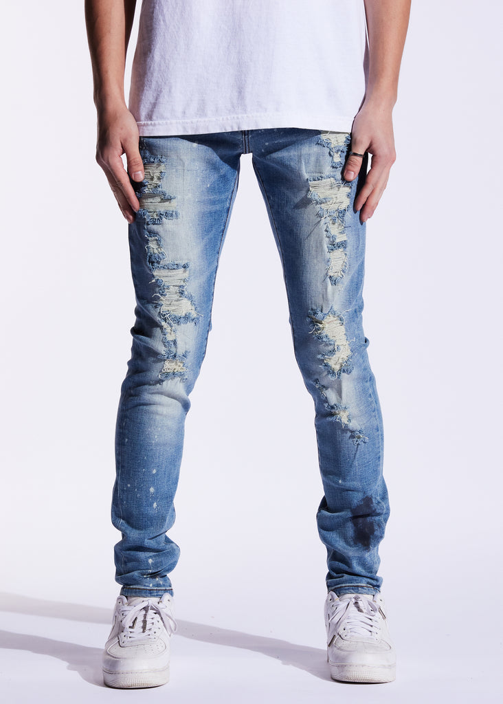 Atlantic Denim (Blue Distressed)