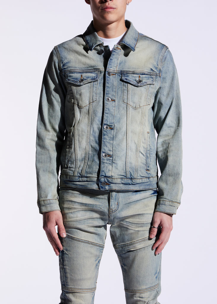 Bering Denim Jacket (Venice Blue Green)