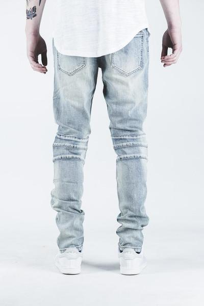 Skywalker Biker Denim (Stone Wash)