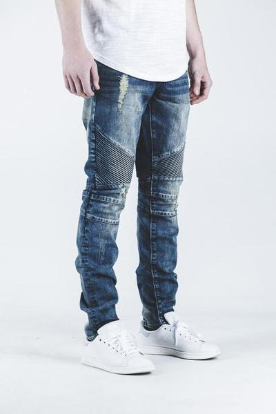 Skywalker Biker Denim (Blue)