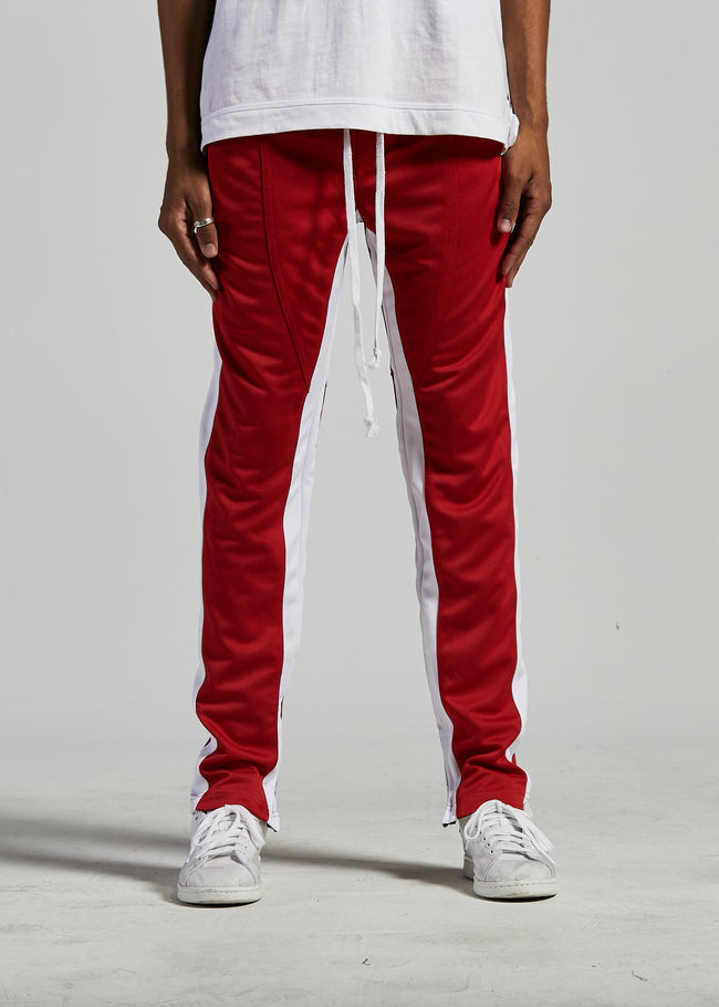 FB TRACK PANTS (RED/WHITE)