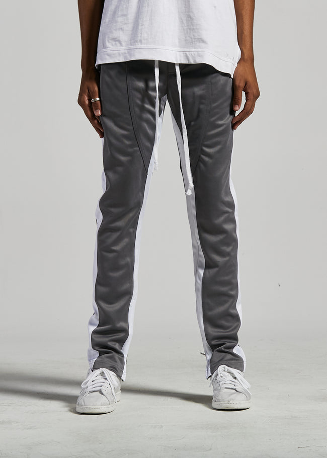 FB TRACK PANTS (CHARCOAL/WHITE)